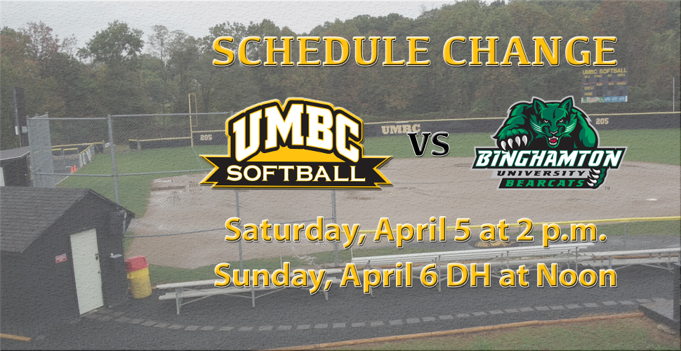Softball Resumes America East Action at Binghamton; Schedule Update