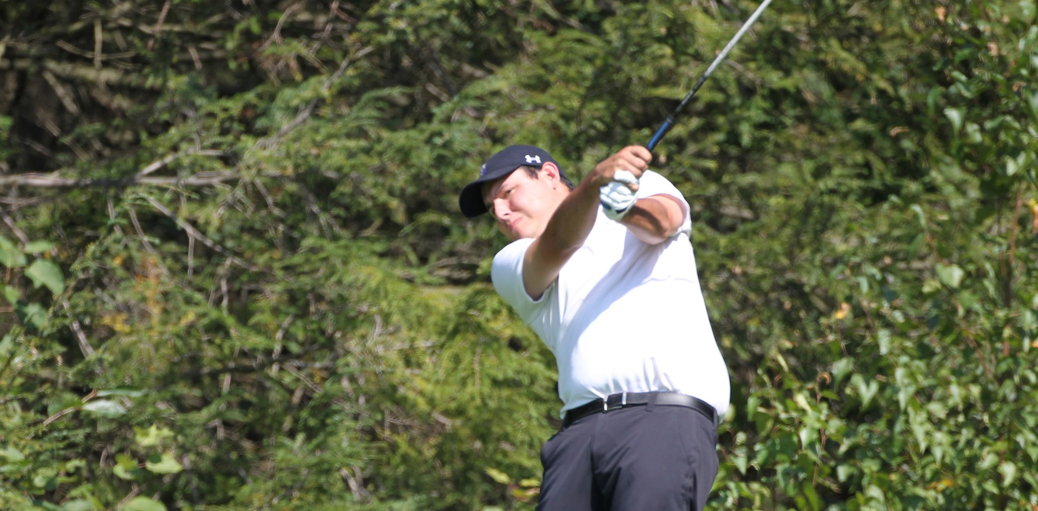 Junior Calvin Ralph shot 74 to lead the Royals to a win over Misericordia on Saturday.