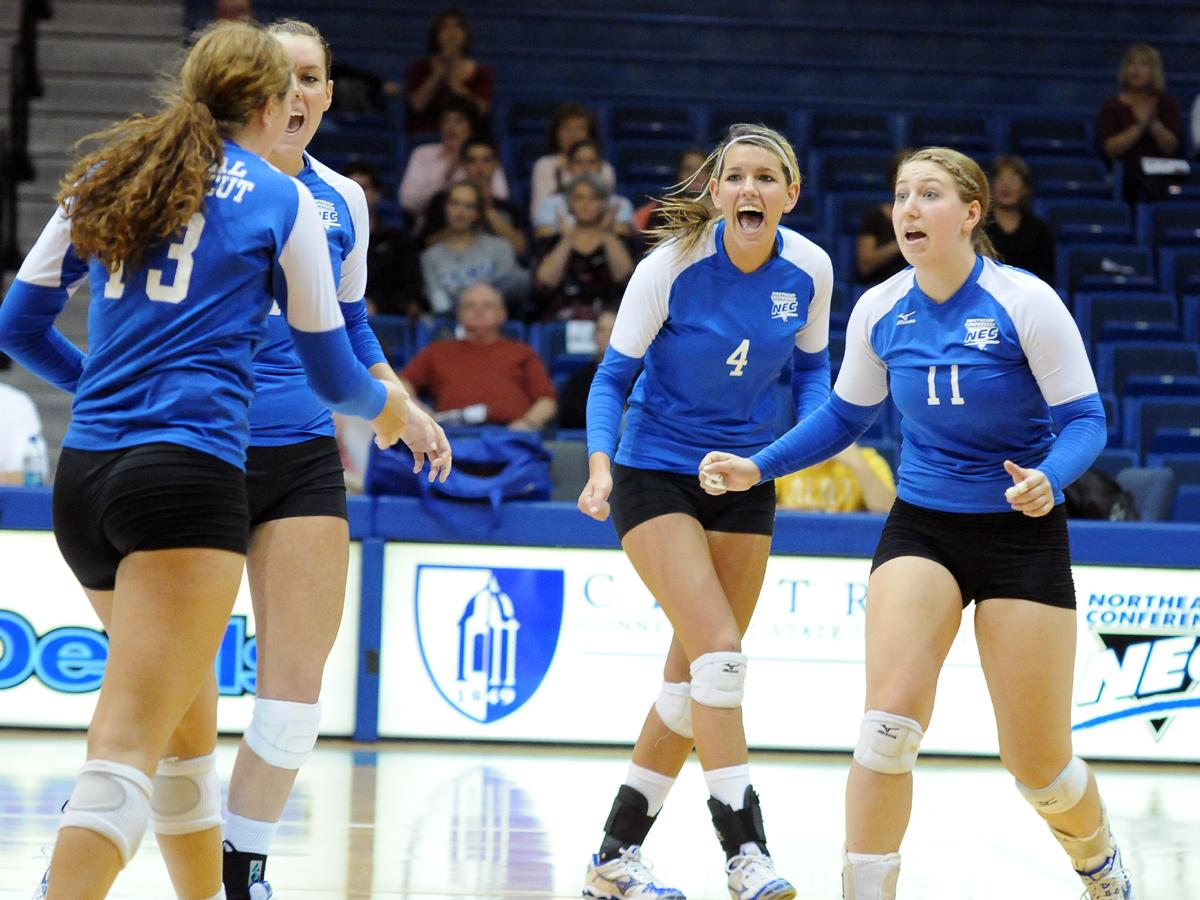Volleyball To Compete In 6th Straight NEC Tournament Starting Today