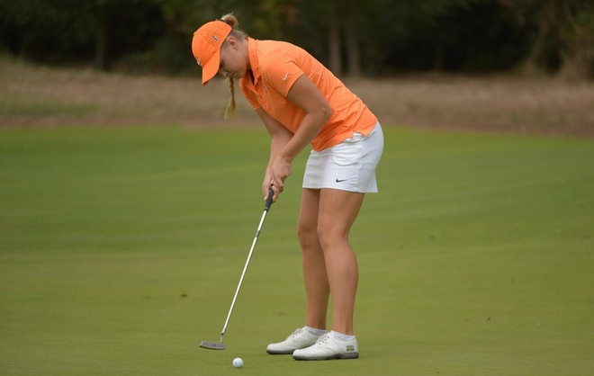 Women's Golf Finishes 5th at Battle at Old Works