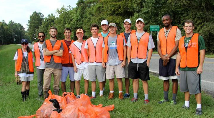 GC Golf Helps KMBB Cleanup North Jefferson Street