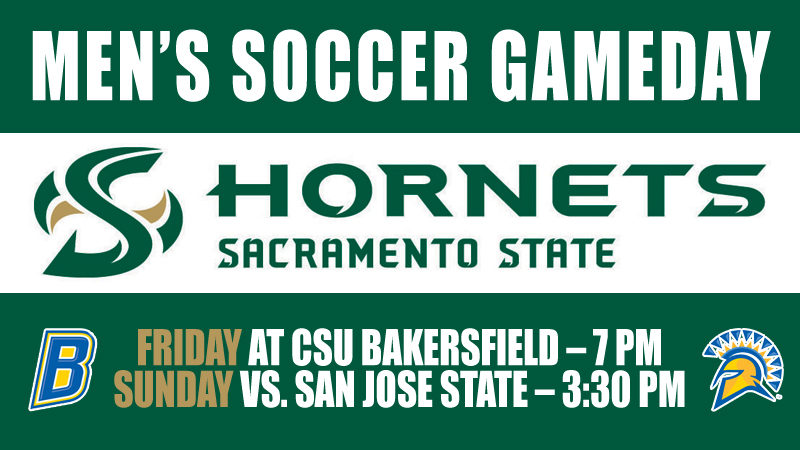 MEN'S SOCCER VISITS CSU BAKERSFIELD BEFORE HOSTING SAN JOSE STATE ON SUNDAY