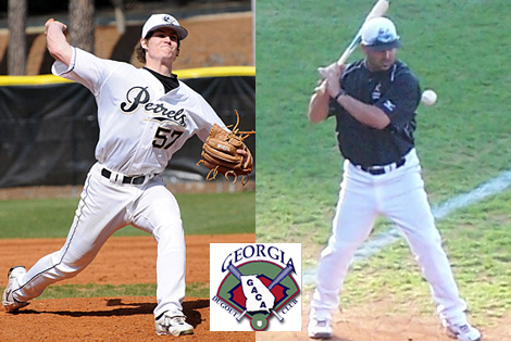 Oglethorpe's Giordano, Sarisky honored by Georgia Dugout Club
