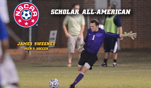 Coker's Sweeney Named NSCAA Scholar All-American