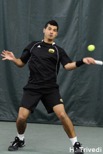Rasid Winklaar is now 5-2 in singles this spring.