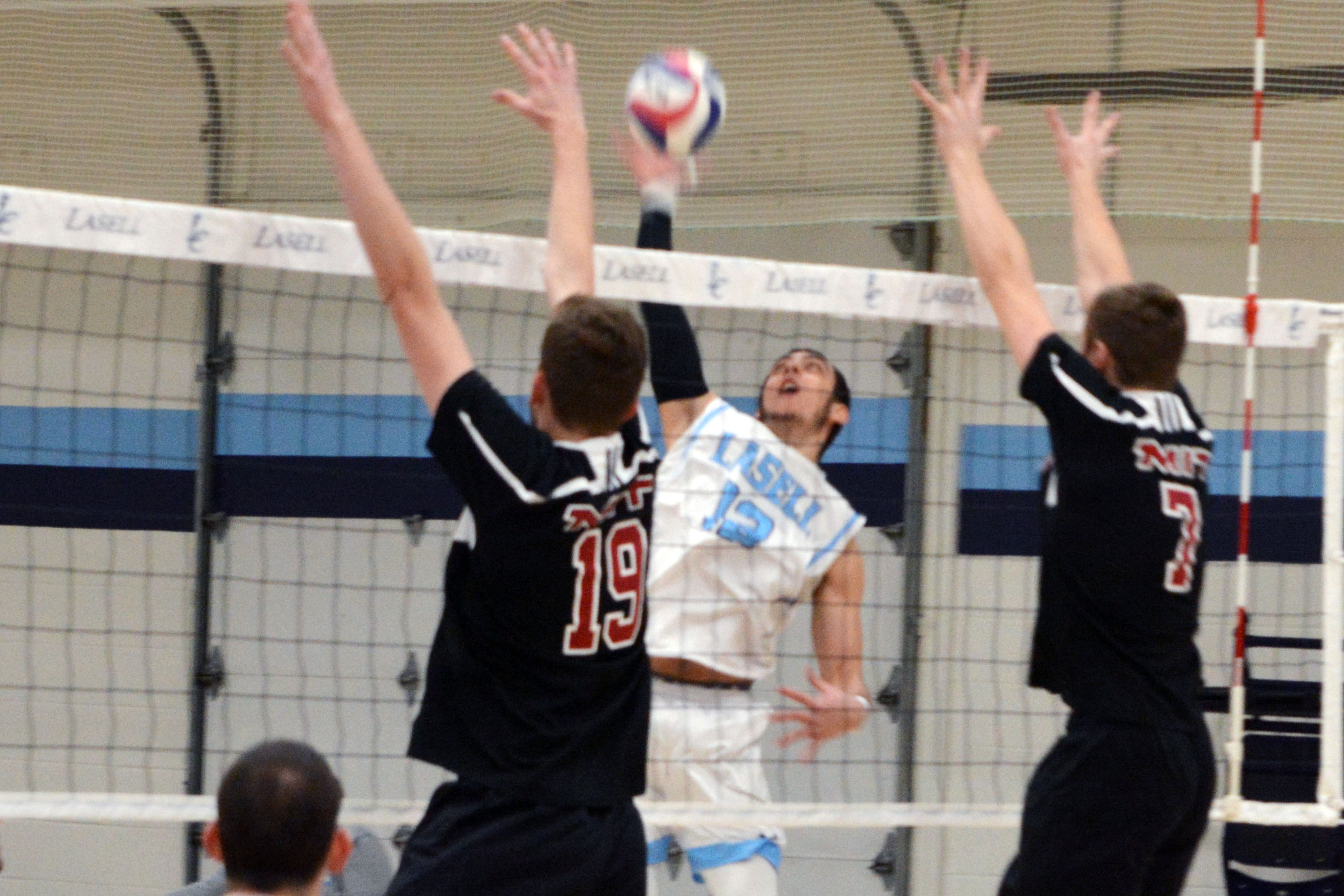 Lasell Men's Volleyball drops pair in home opener