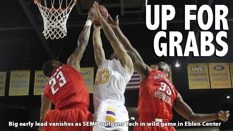 Golden Eagles downed by Southeast Missouri in OVC action in Eblen Center