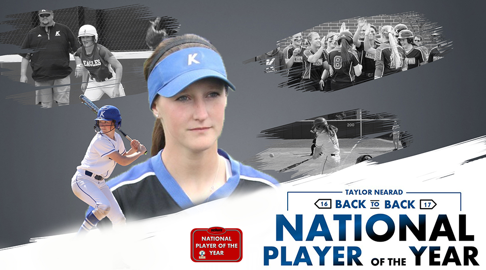 Photo for Eagles' Nearad repeats as NFCA National Player of the Year