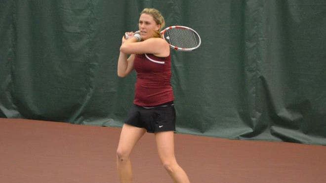 Trinity Women Fall to Chicago in ITA Indoor Third Place Match