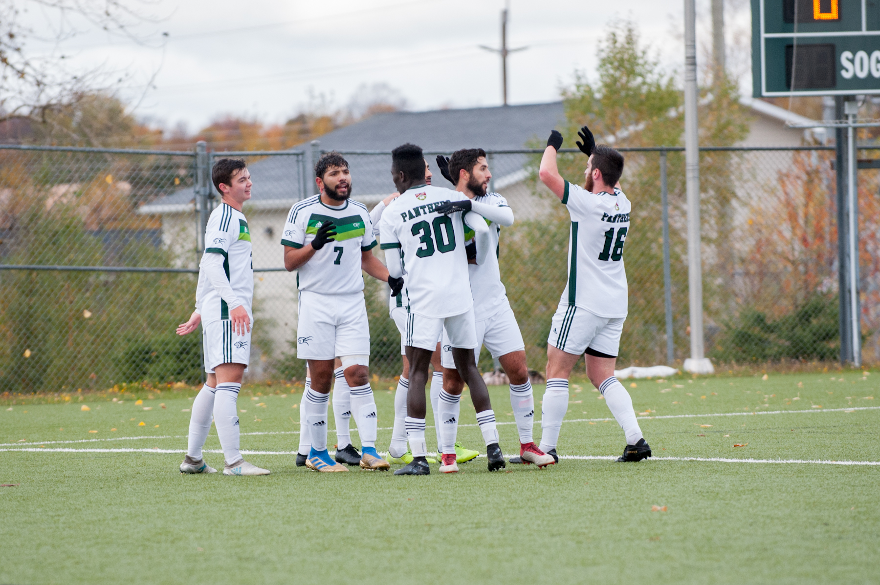 Playoff-bound Panthers roll past Mount Allison 5-1