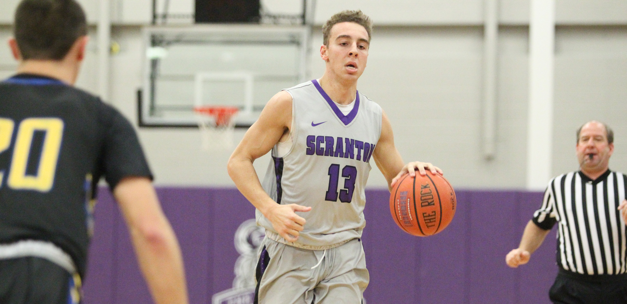 Sophomore Logan Bailey has been named The University of Scranton Athlete of the Week © Photo by Timothy R. Dougherty / doubleeaglephotography.com
