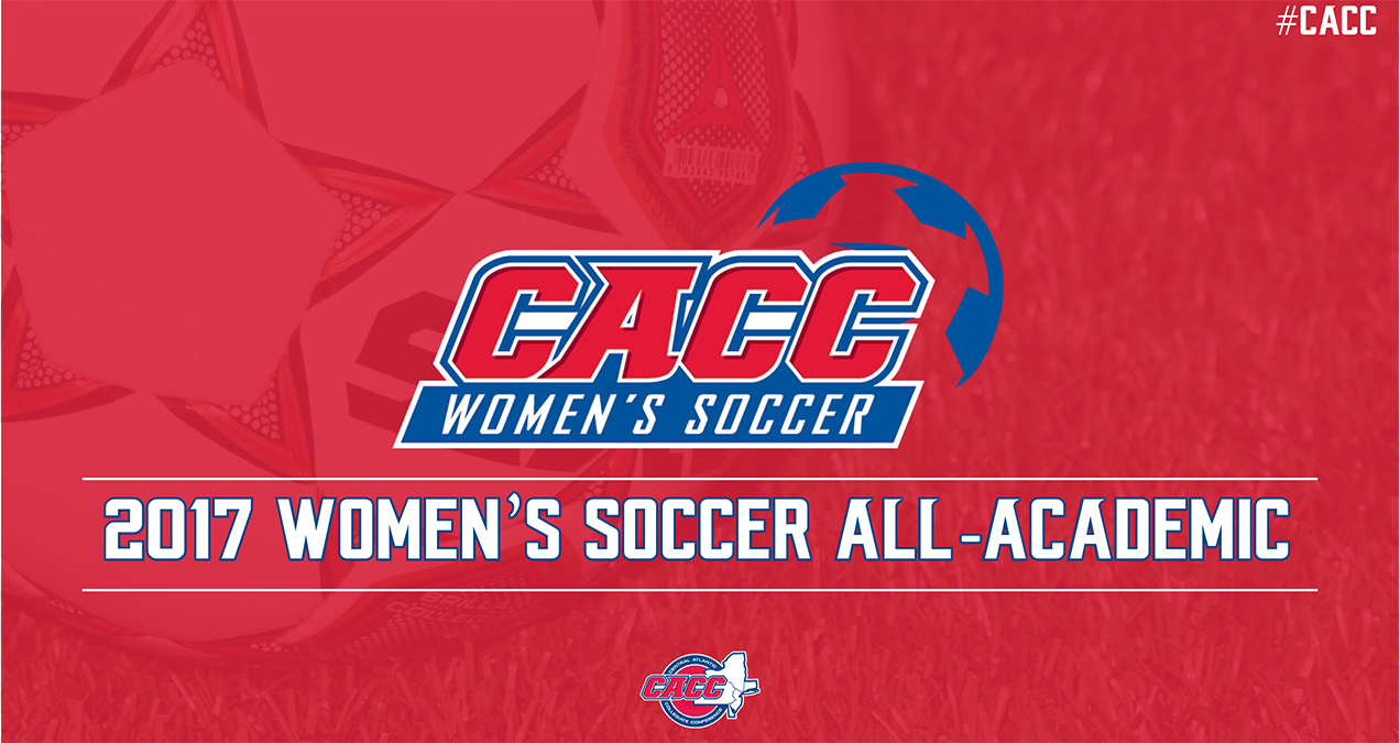 69 STUDENT-ATHLETES NAMED TO 2017 CACC WSOC ALL-ACADEMIC TEAM