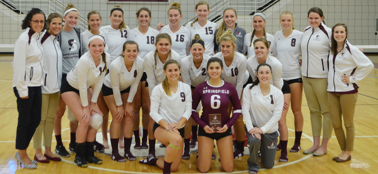 Women's Volleyball Wins 2016 Springfield College Invitational