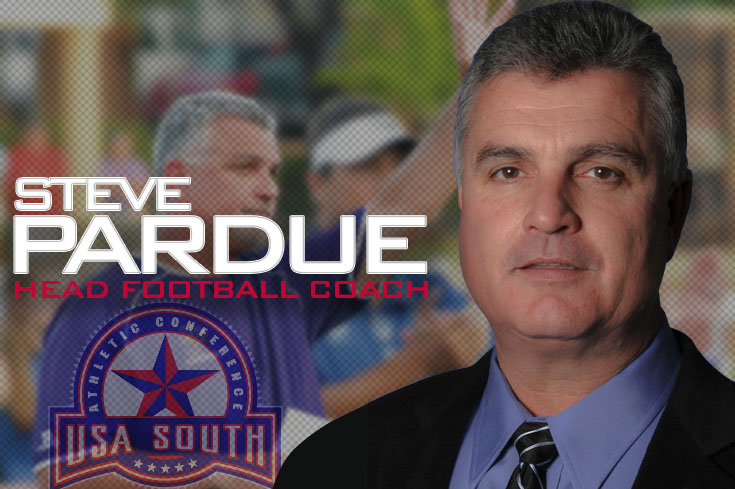 2016-17 Review/Football: Steve Pardue introduced as new football coach