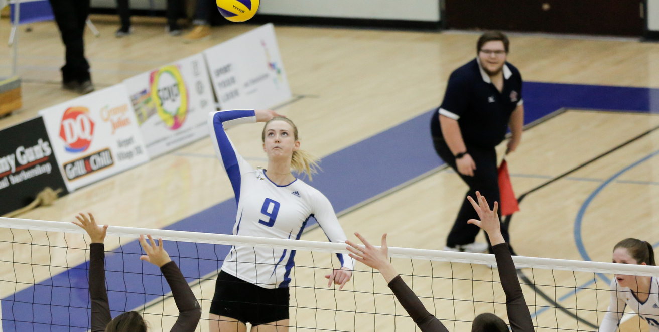 RECAP: Home court warms up as UBCO takes first match versus Manitoba in best-of-three