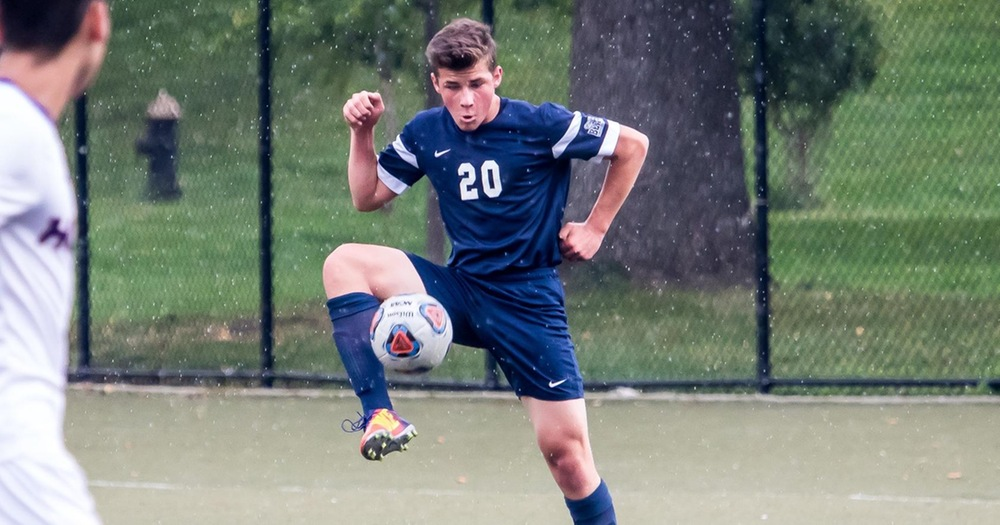 Two Players Net First Goal but Men's Soccer Falls at Maritime