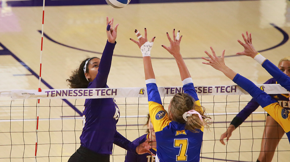 Tech volleyball looks to keep OVC Tournament hopes alive in midweek match with Jacksonville State