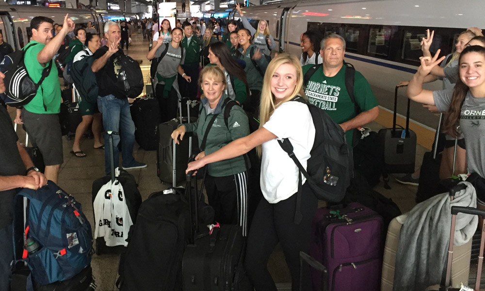 VOLLEYBALL USES OFF DAY TO TRAVEL TO BEIJING; DAY 7 PLAYER BLOGS