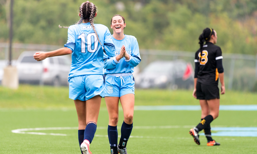 Women's soccer bounces back with win over Cambrian