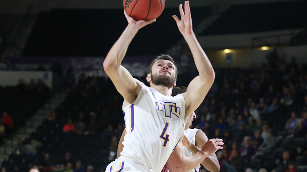 Jugovic's red-hot night leads Golden Eagles to 77-69 win over Eastern Kentucky