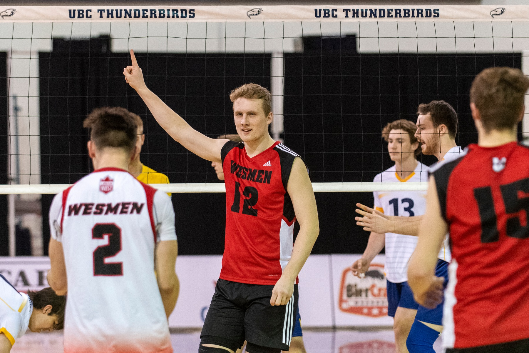 Wesmen can't hold lead in loss at UBC