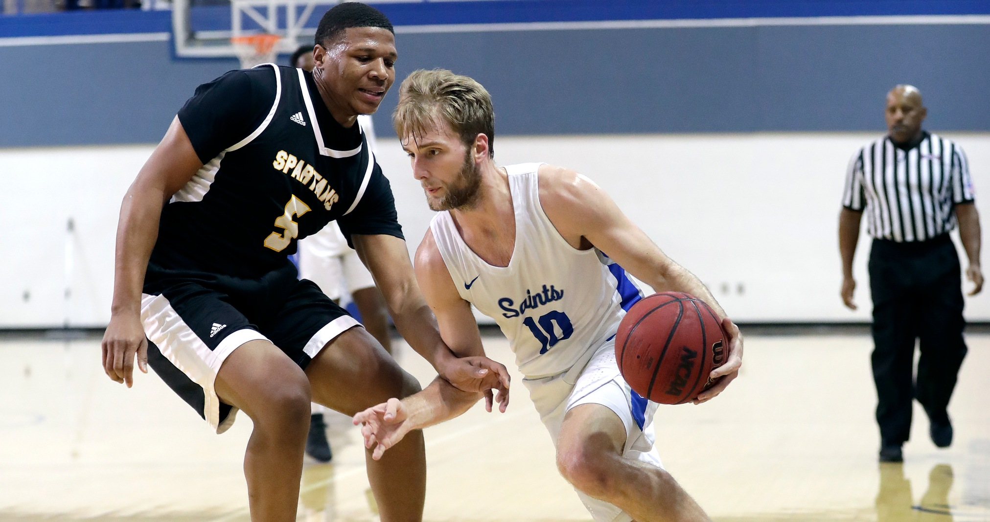 Callahan Leads Saints to an 84-58 Win Over Emory and Henry