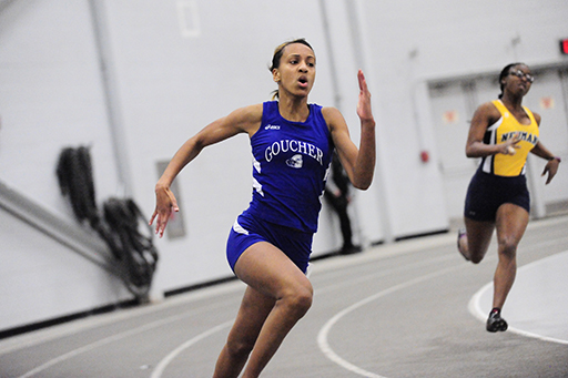 Pair From Goucher Finish Among Top D-III Sprinters