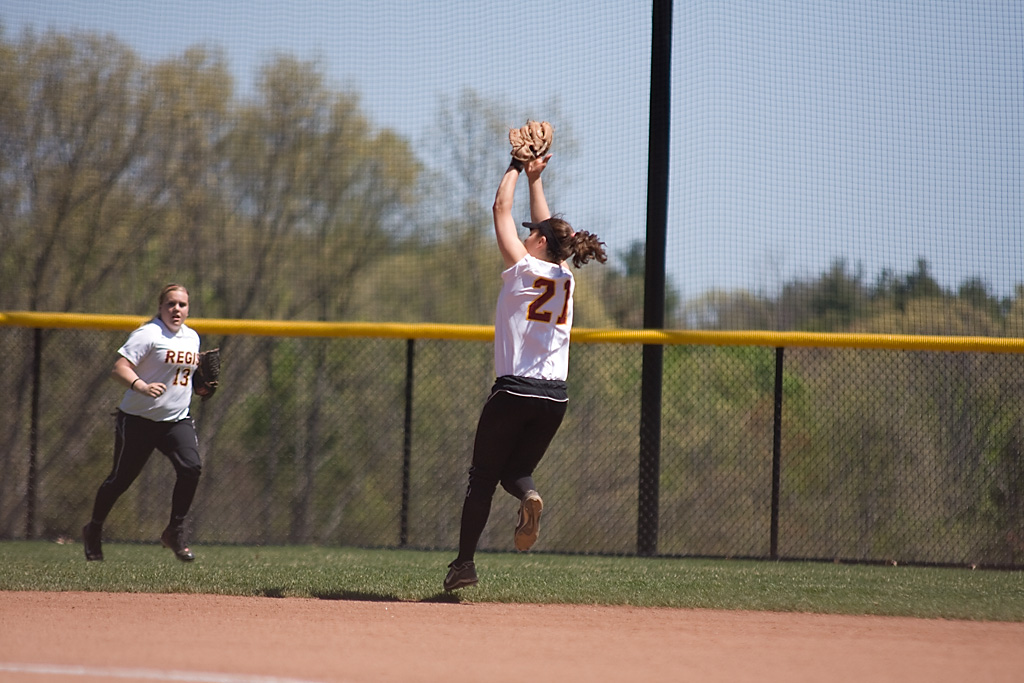 SEAHAWKS SOAR OVER REGIS COLLEGE IN CONFERENCE DOUBLEHEADER