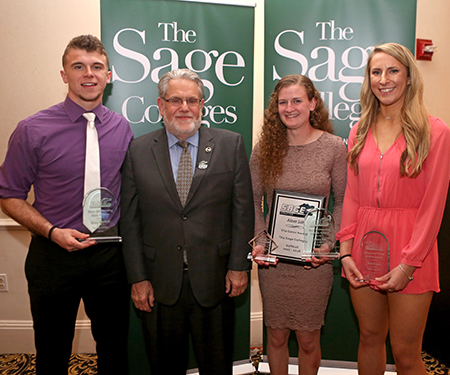 Sage honors outstanding student-athlete performances at year end banquet