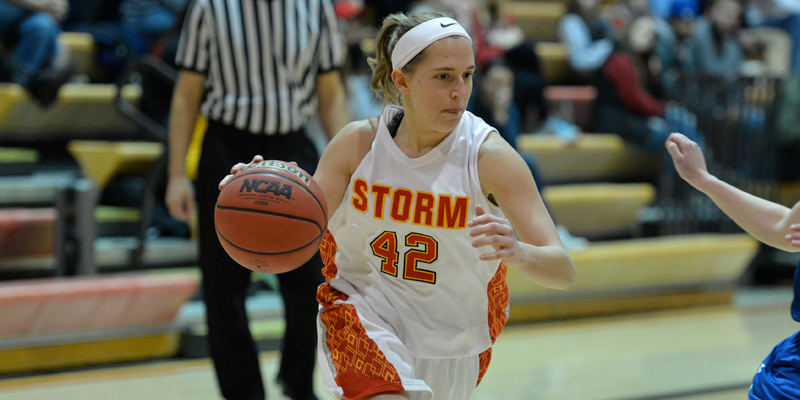 Haupt, bench help Storm women stave off Central