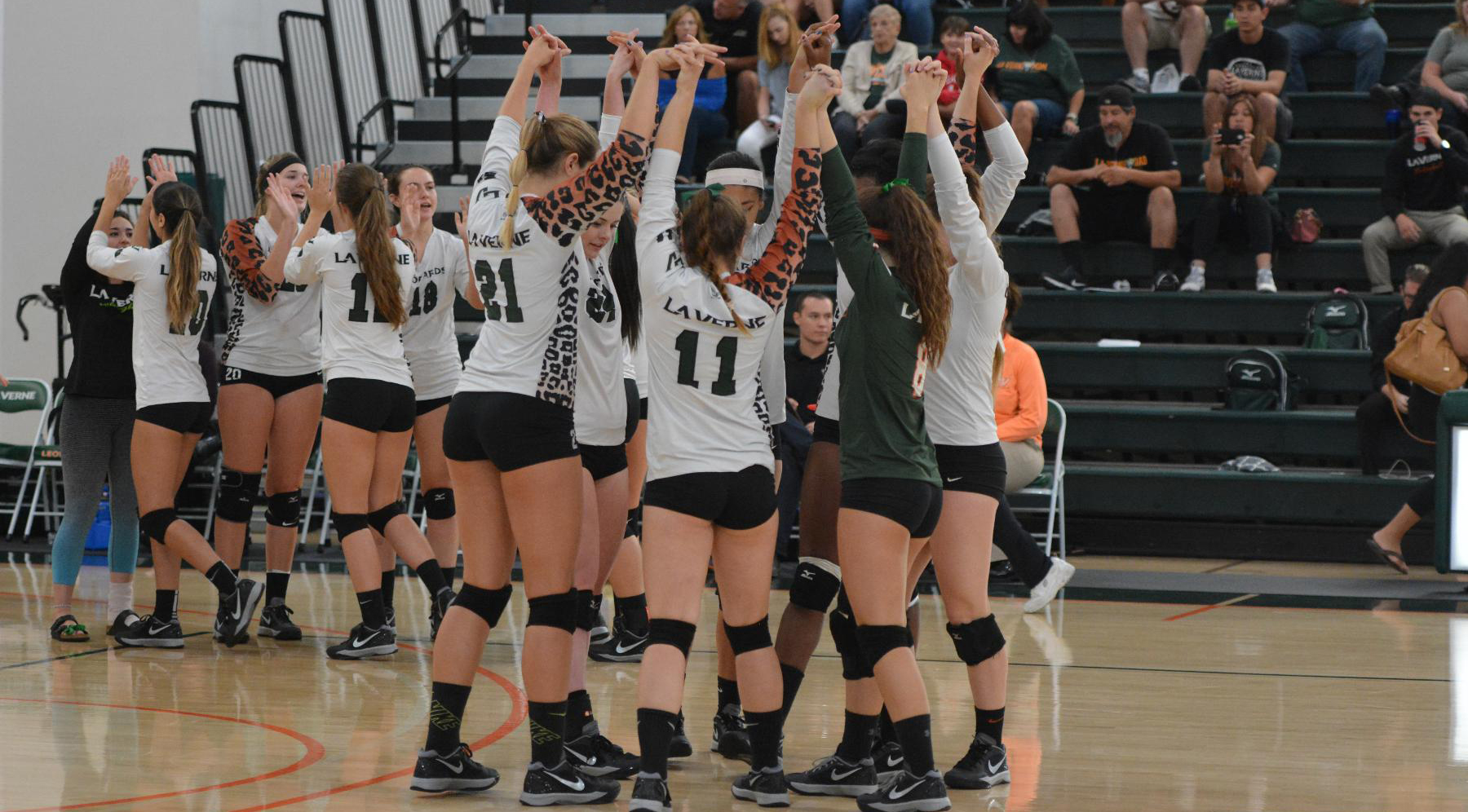 Volleyball tops Chapman, 3-1