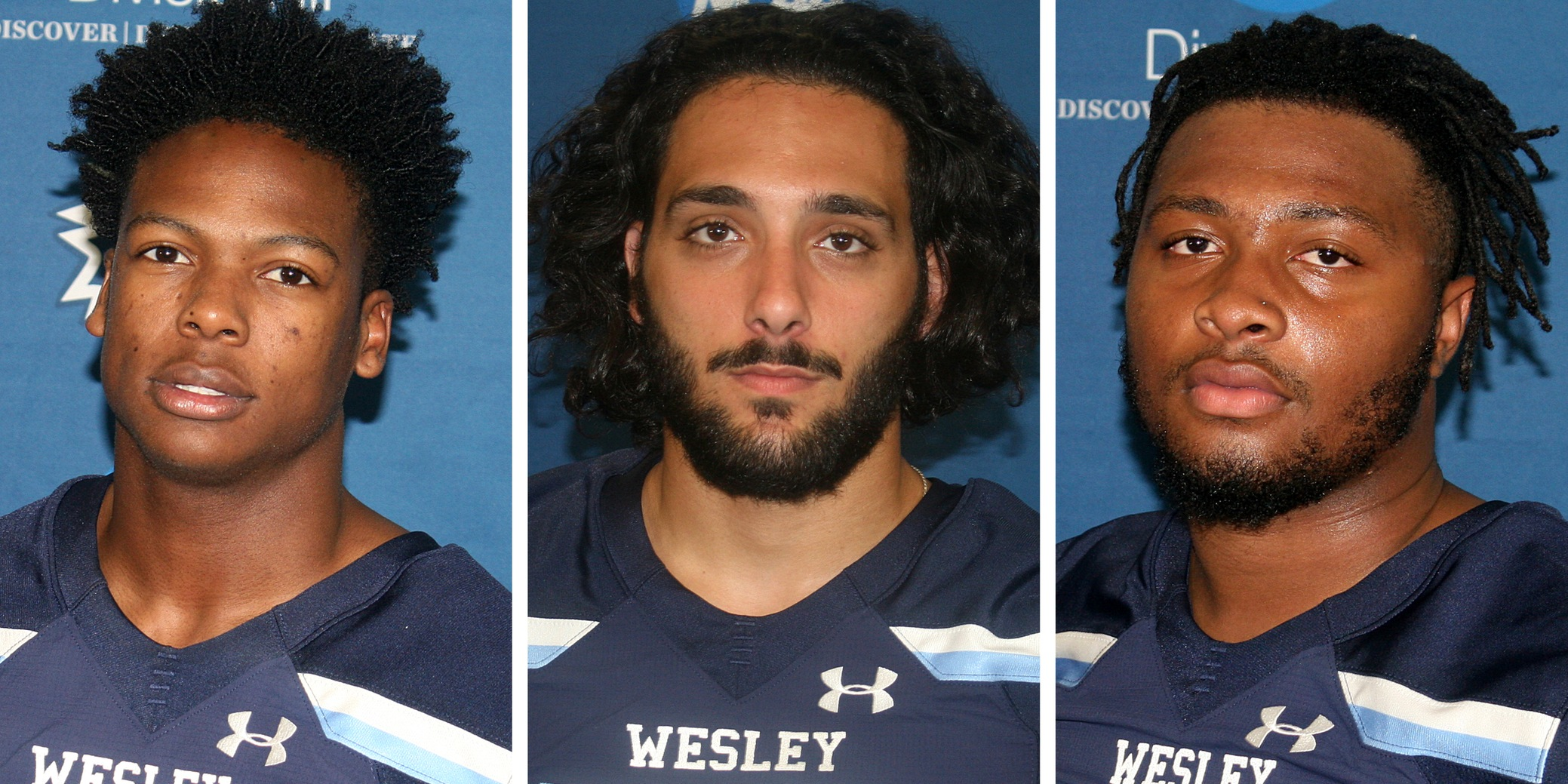 Three Wolverines capture NJAC weekly honors