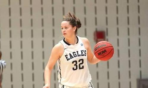 Howland Paces UMW with 18 Points in Eagles 70-50 Win Over Bridgewater