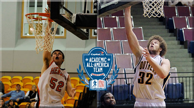 Two From SCAC Named To Capital One Academic All-District® Men's Basketball Team