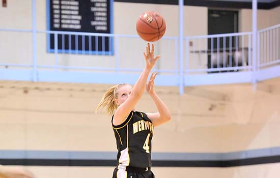 Late Basket Sinks Women's Basketball