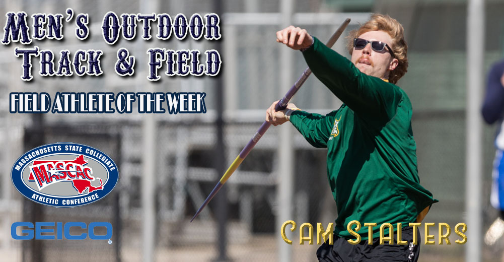 Stalters Named MASCAC Men's Outdoor Field Athlete Of The Week