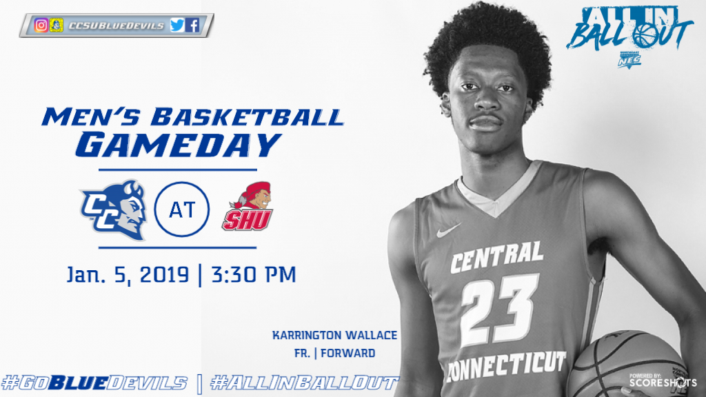 Men's Basketball Heads to Sacred Heart in NEC Contest Saturday