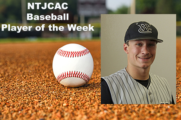 NTJCAC Baseball Players of the Week (April 16-22)
