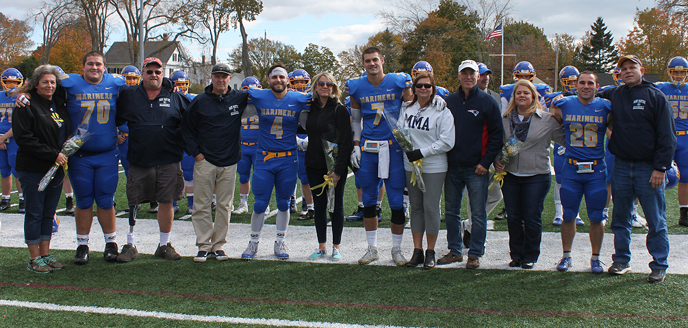 Mariners Fall Short on Senior Day