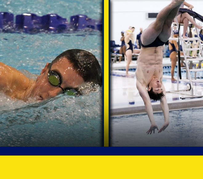 Jones and Randall Selected as Men's Swimming and Diving Athletes of the Week