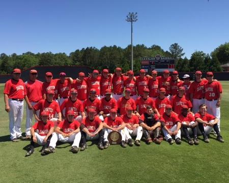 Cavaliers go out in style capturing second straight GCAA  Baseball Championship