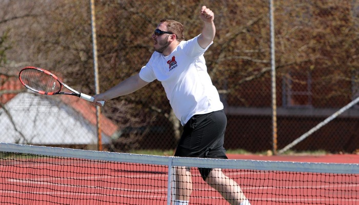 Men's tennis plays at OAC Spring Fest