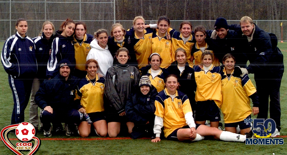 HUMBER'S FIRST WOMEN'S TEAM CCAA MEDAL