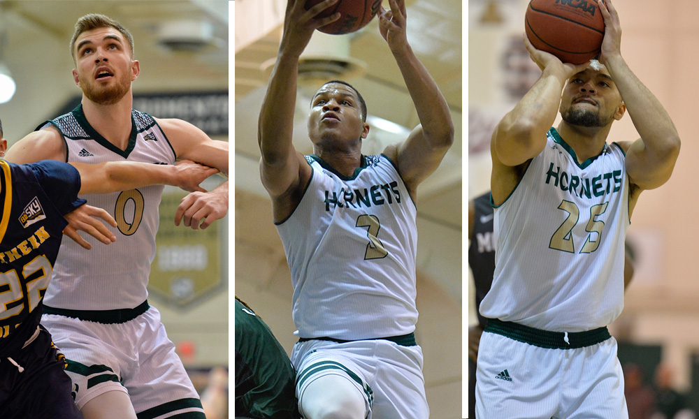MEN'S BASKETBALL RECEIVES NABC TEAM ACADEMIC AWARD; HERRICK, STRINGS & MARTIN ALSO HONORED INDIVIDUALLY