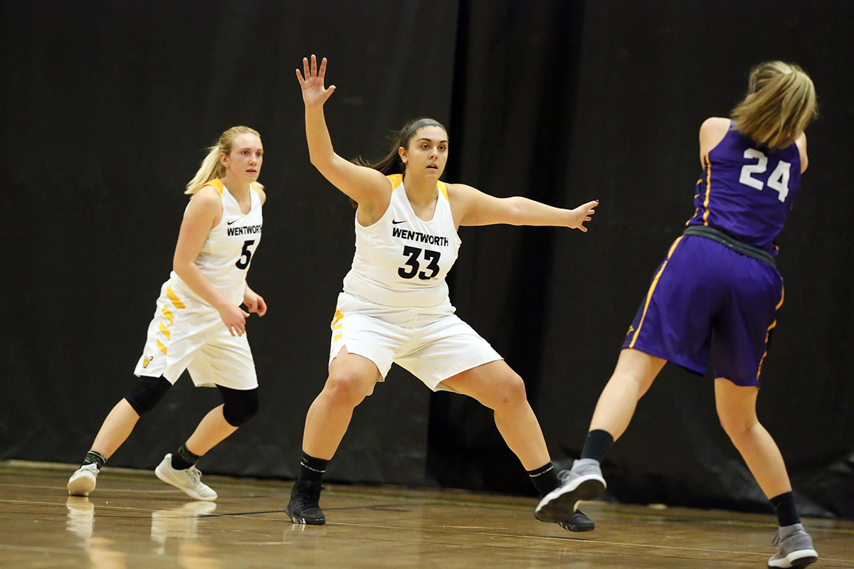 Second Quarter Run Helps Lift Western New England Past Women's Basketball