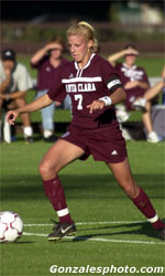 Women's Soccer Headed for Dallas and the 2001 College Cup