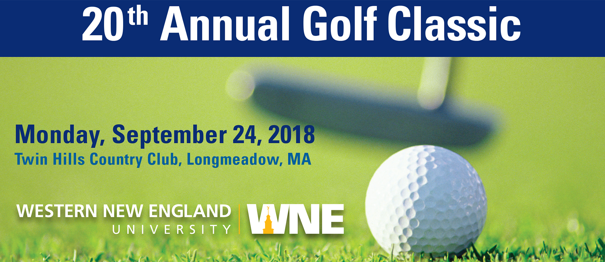 Registration Still Open for 20th Annual Golf Classic!