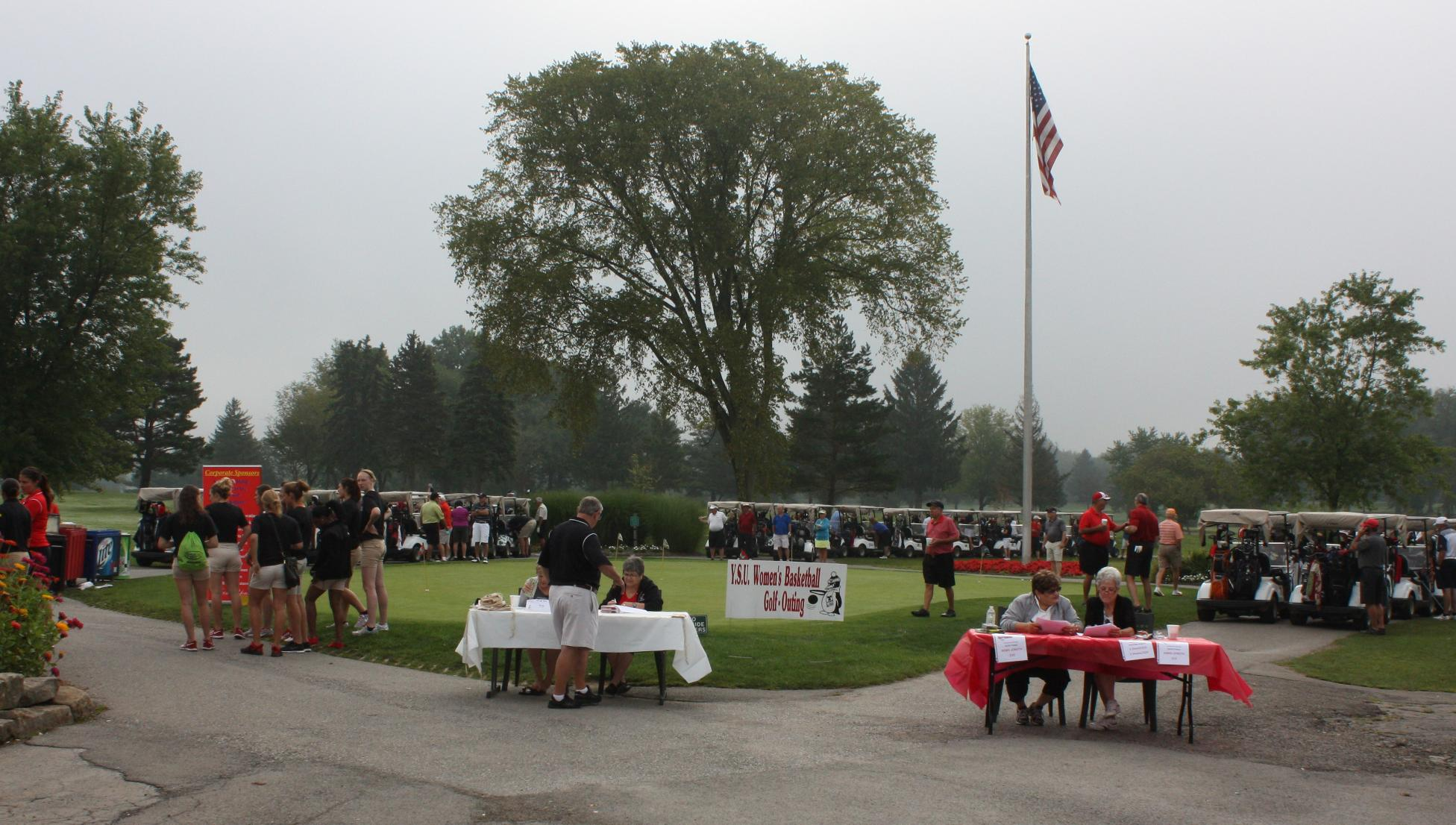 The YSU Women's Basketball Golf Outing sells out annually.