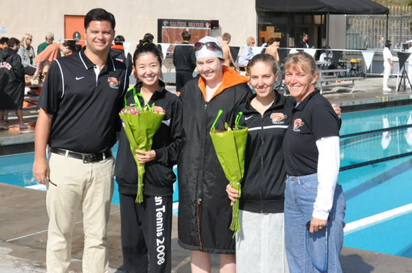 Beavers Hosts Senior Day Meet with La Verne