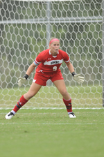 Lauren Kadet with 10 saves in the scoreless draw